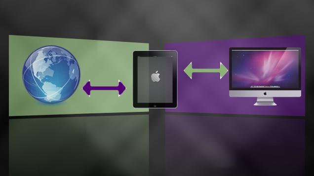 iPad File Uploads & Downloads