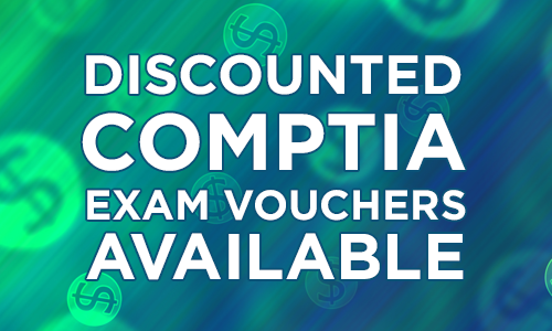 Discounted CompTIA Exam Vouchers