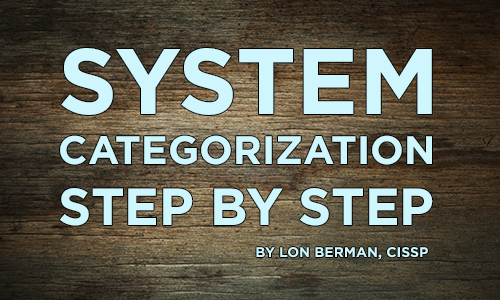 System Categorization Step by Step - IT Dojo