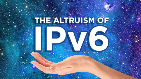 The Altruism of IPv6