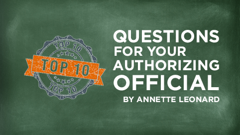 Questions for your Authorizing Professional