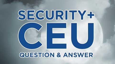 Security+ CEU