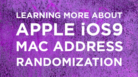 MAC Address Randomization