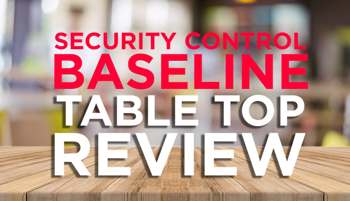 RMF Security Control Baseline Training
