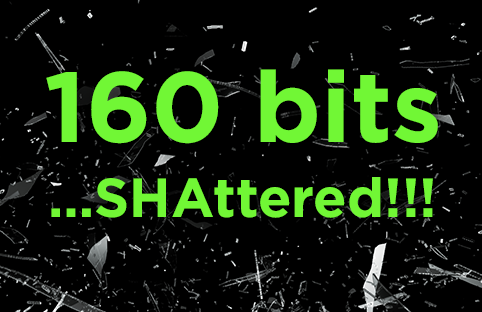 SHAttered - SHA1 collision