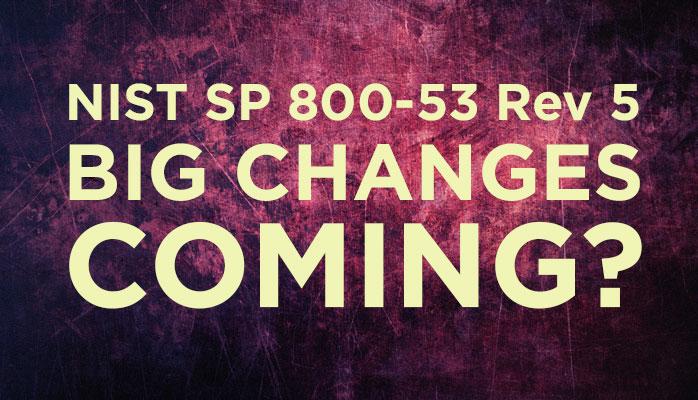 NIST 800-53 Training