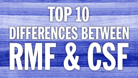 Difference between RMF and CSF Training
