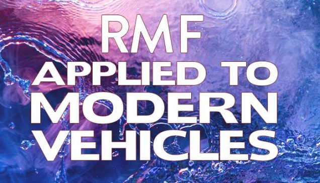 RMF applied to Modern Vehicles Article