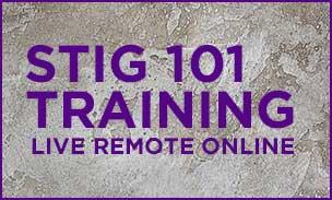 STIG 101 Training - Live Remote Online