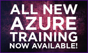 Azure Training Now Available