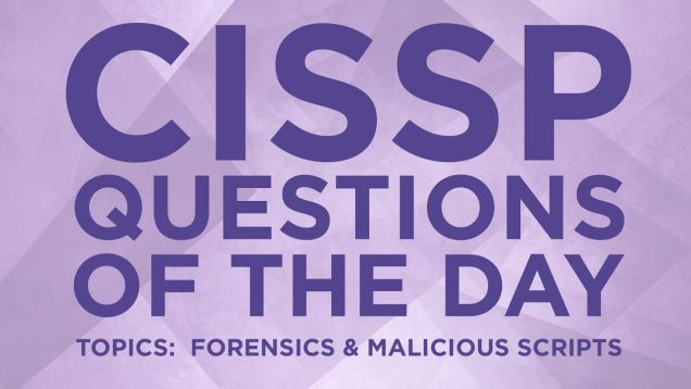 CISSP Question 20