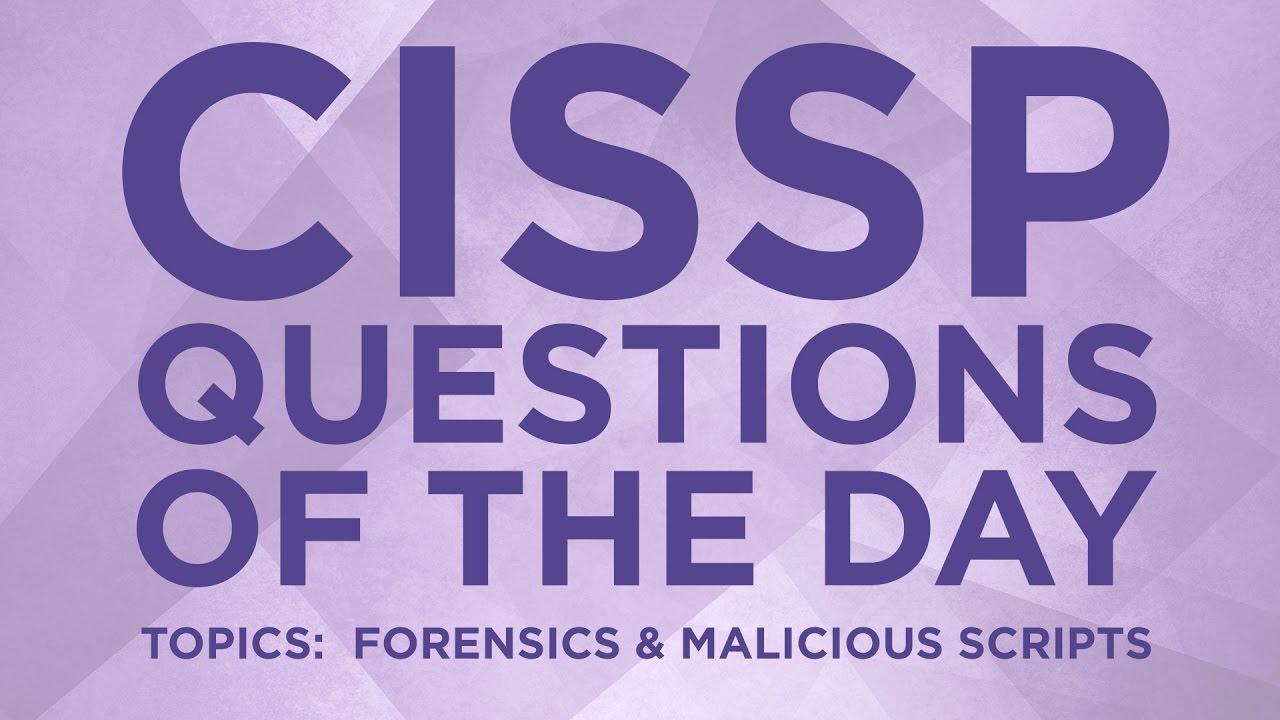 CISSP Question 20