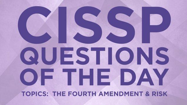 CISSP Question 21