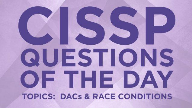 CISSP Preparation Questions