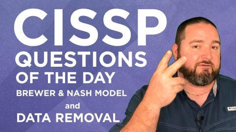 CISSP Colin Weaver Questions