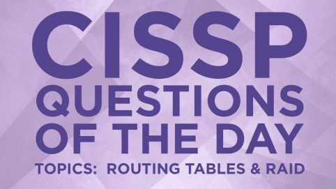 CISSP Question of the Day #15