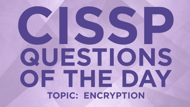 Cissp Question 19