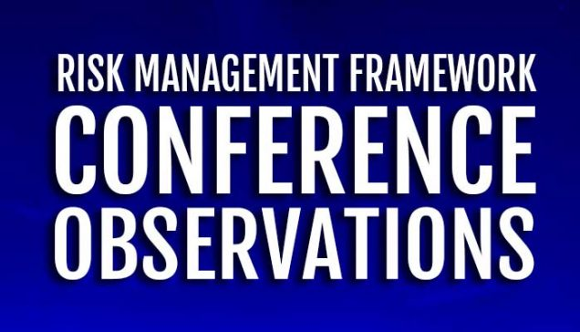 RMF Conference Training Observations